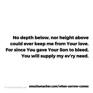 3a - When Sorrow