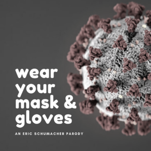 wear your mask and gloves parody bob dylan