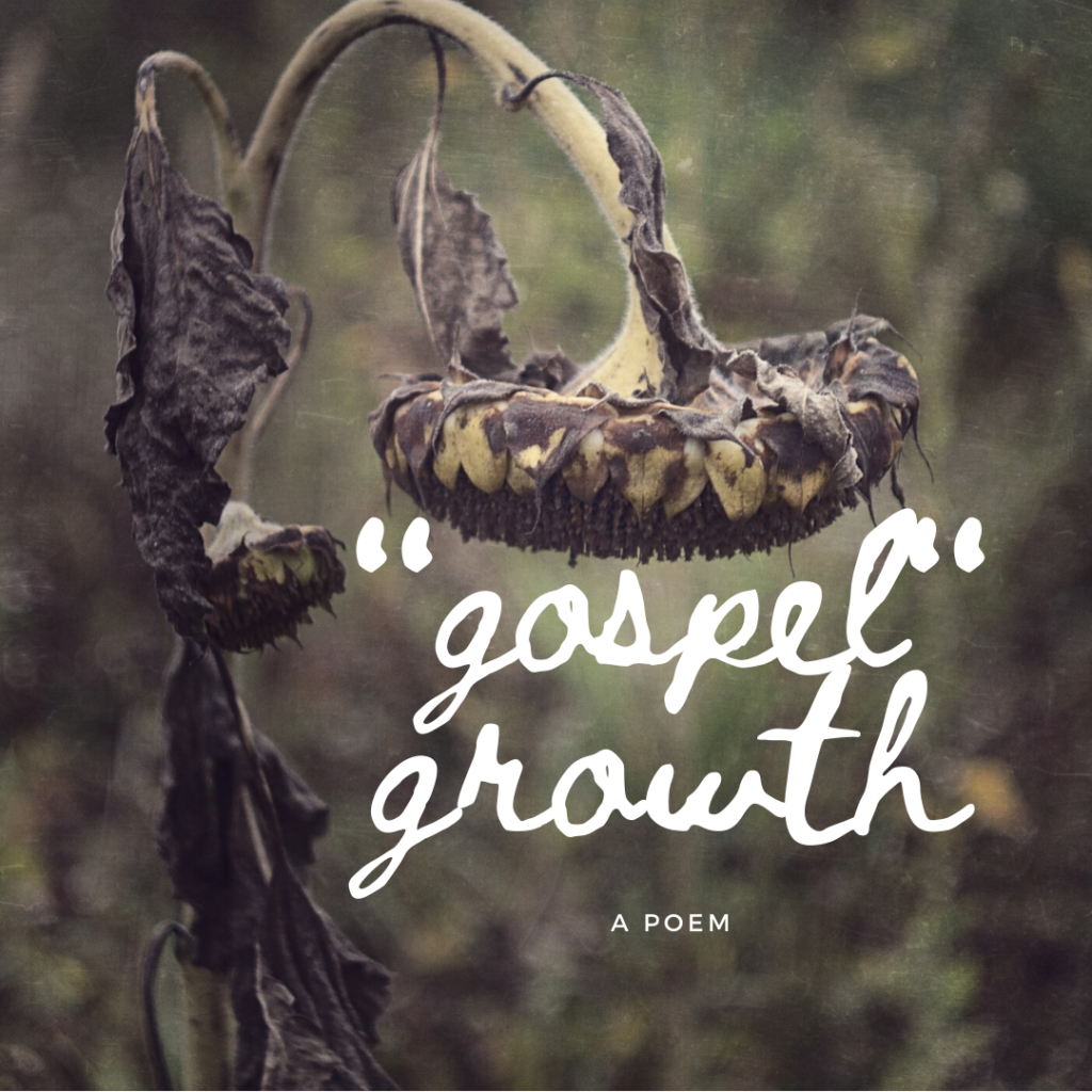 gospel growth a poem
